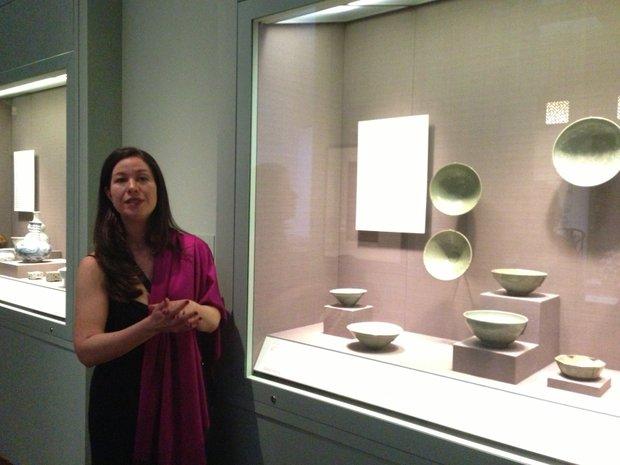 Describing the Korean celadon collection