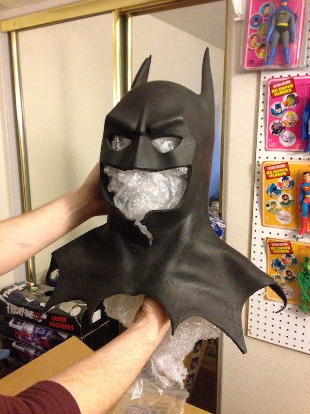 Michael Keaton Cowl (collector's item)