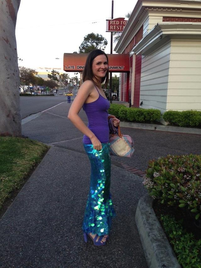 Terri the Mermaid