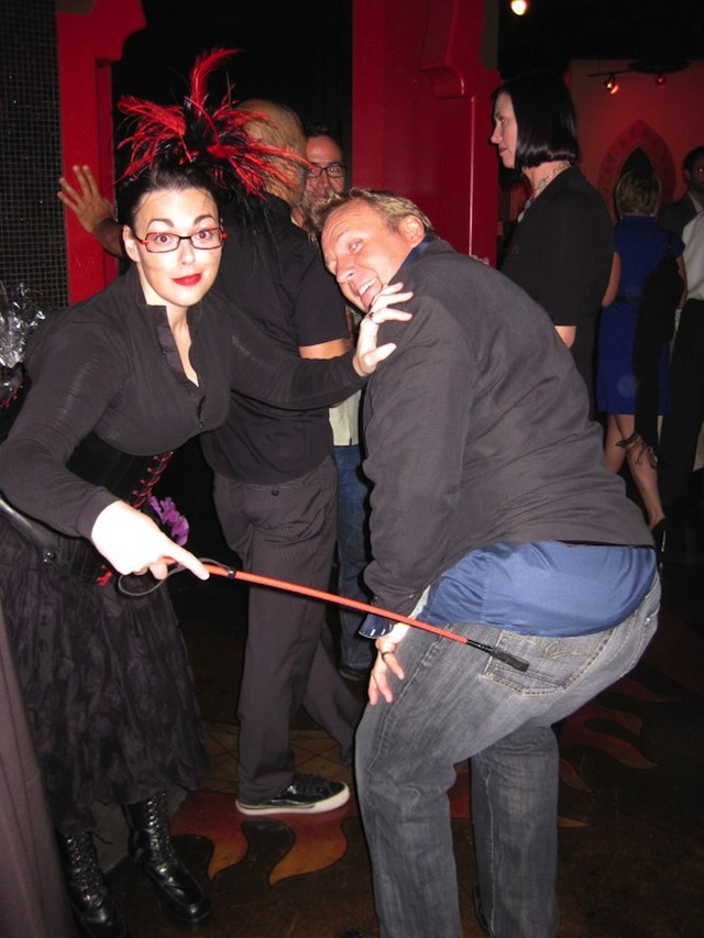 Me and Graham at the after-party for O&O
