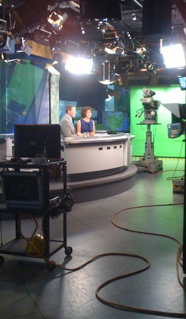 At the NBC San Diego studio