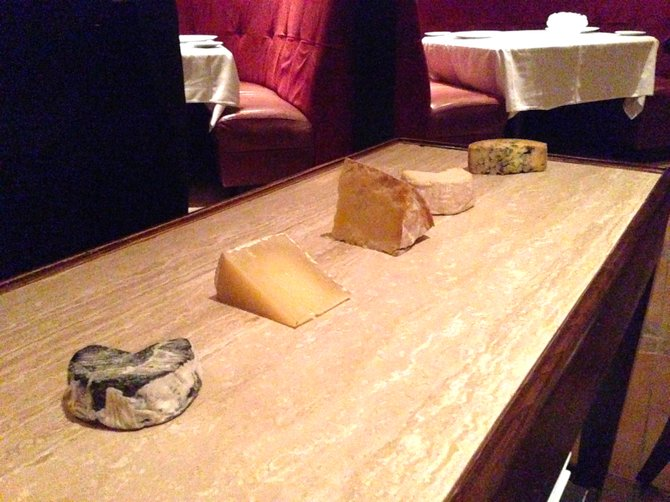 Cheese served table side