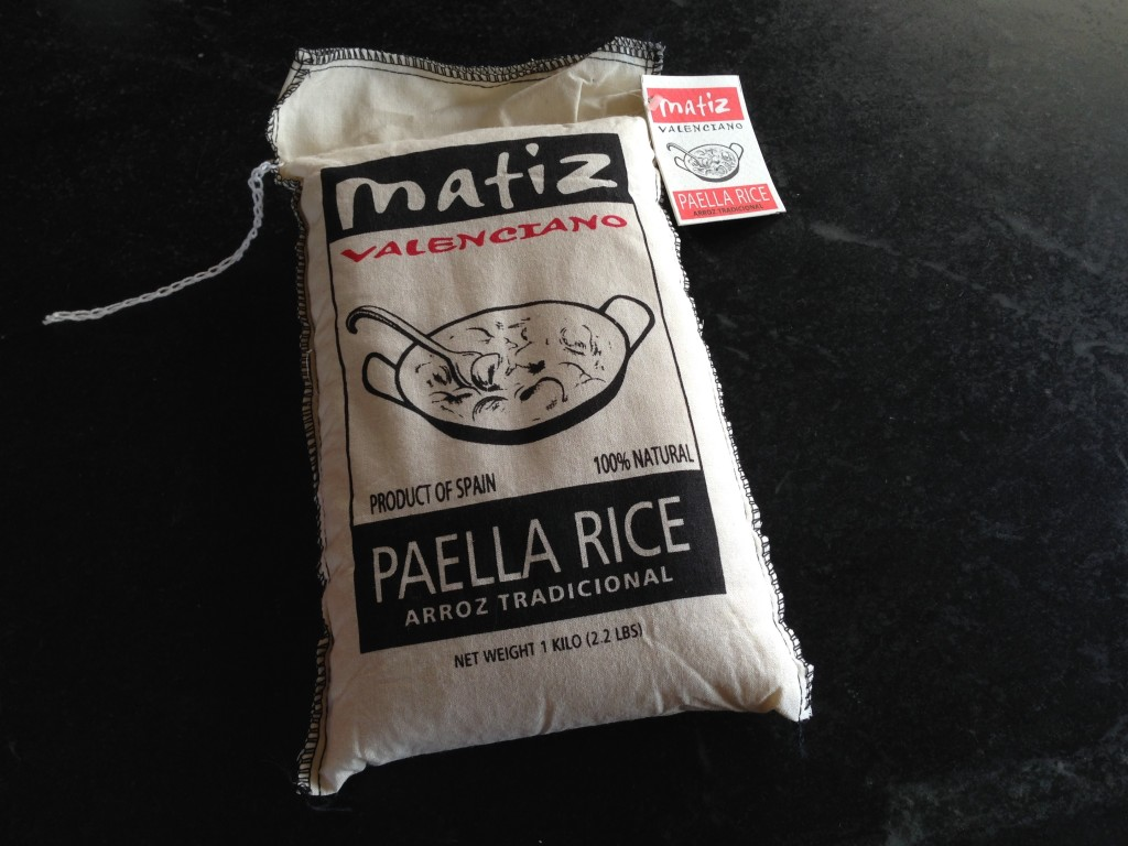 Special paella rice