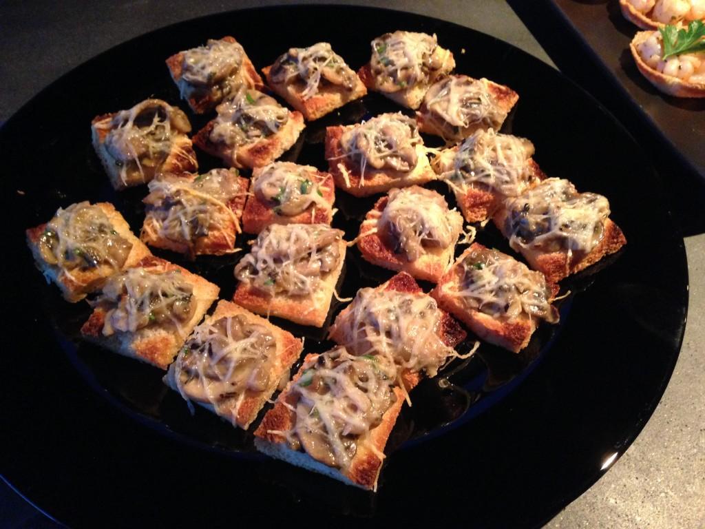 """He called these """"mushrooms en croute"""""""