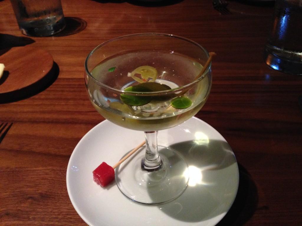 Tomato Martini at Clio
