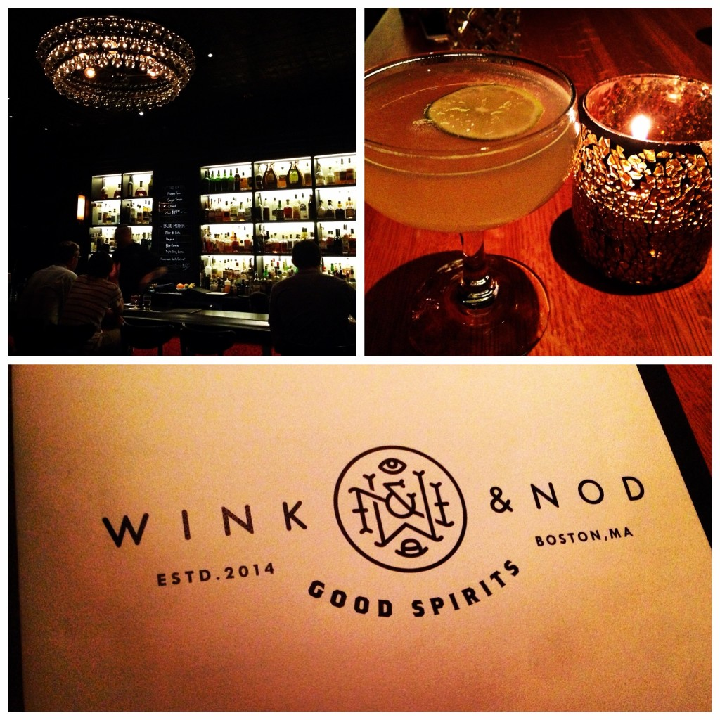Wink & Nod, cool atmosphere, friendly service, delicious drinks
