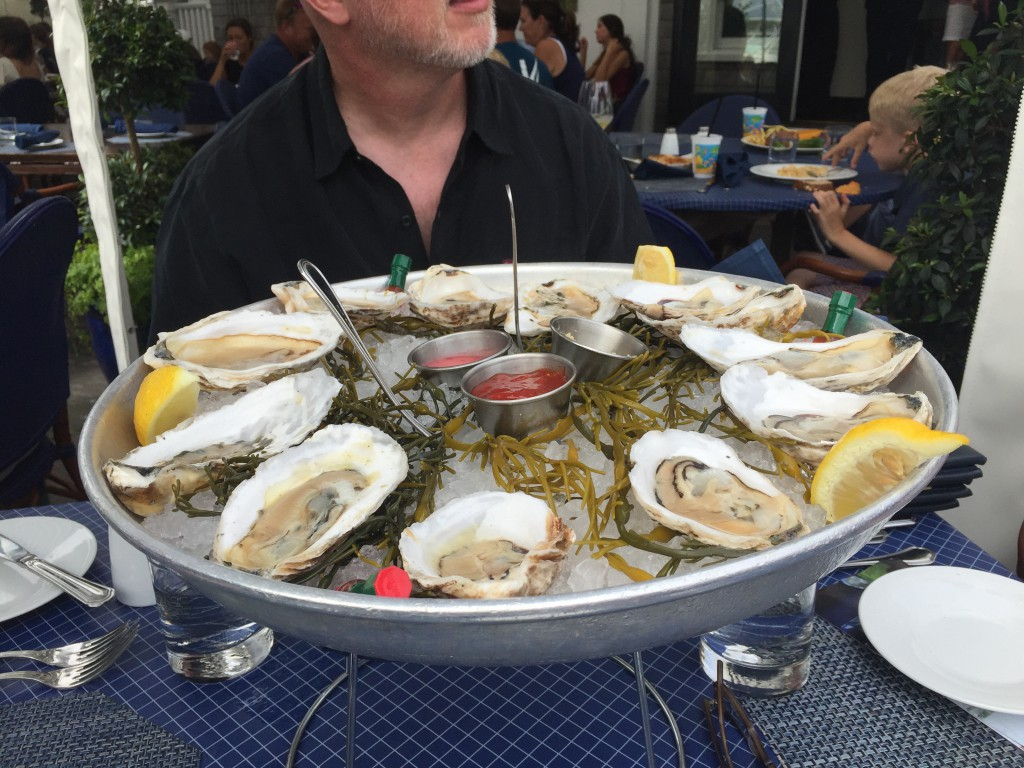 Oysters at the Atlantic