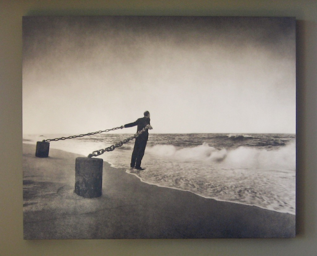 Low Tide, the image from ParkeHarrison's The Architect's Brother exhibition that we own